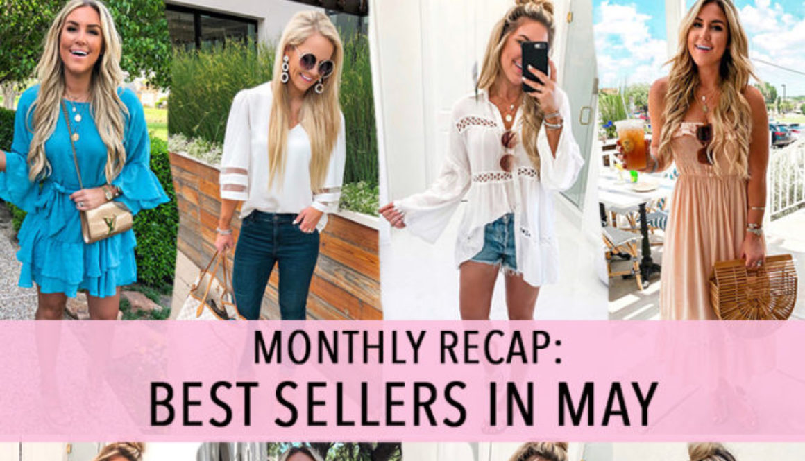 MONTHLY RECAP: MAY BEST SELLERS