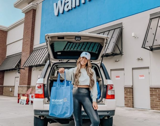 Online Grocery Pickup With Walmart
