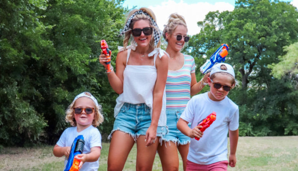 Soaking Up Summer with Hasbro Nerf