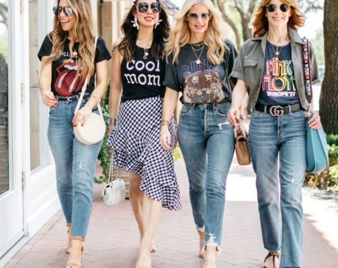 Chic at Every Age: BAND TEES