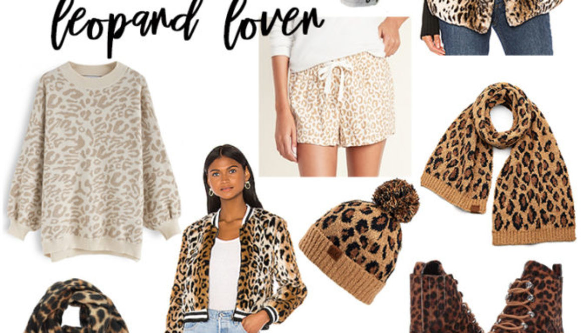 GIFT GUIDE: FOR THE LEOPARD LOVER