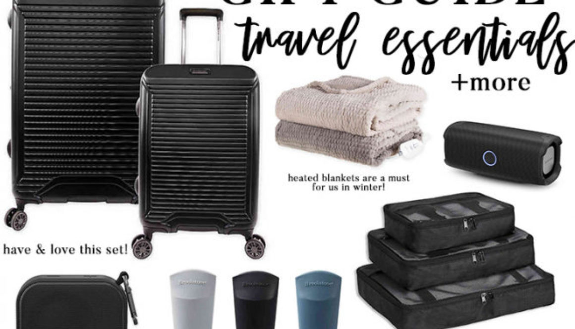 Travel essentials gift guide