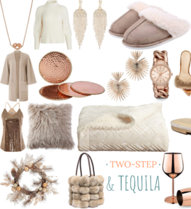 Rose Gold and Gold fashion and Home finds, Amazon
